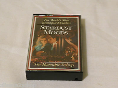 The World's Most Beautiful Melodies Stardust Moods  RARE Cassette Tape