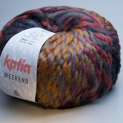 Katia Weekend 070 frost mix 50g Wolle (9.90 EUR pro 100 g)