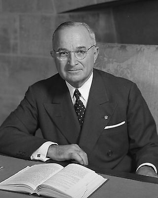 Harry S. Truman 8 x 10 / 8x10 GLOSSY Photo Picture