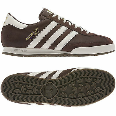 low priced 7bed5 e6a62 adidas MENS BECKENBAUER BROWN SIZE 7 8 9 10 11 12 TRAINER SHOES MOD STYLE  BNWT