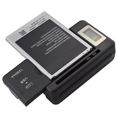 New Digital Lcd Universal Cell Phone Battery Charger Usb Port