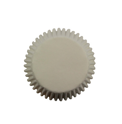 PME 100pk WHITE MINI Cupcake Muffin Fairy Cake Baking Cases Holders Decoration