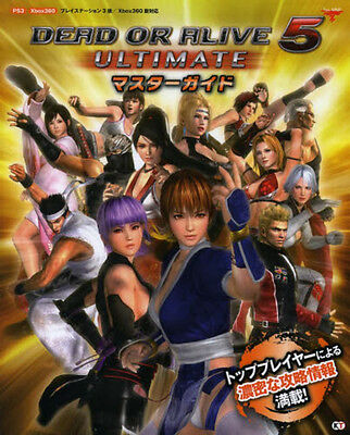 DEAD OR ALIVE 5 Ultimate Complete Guide Book JAPAN art ps3 xbox 360 mook