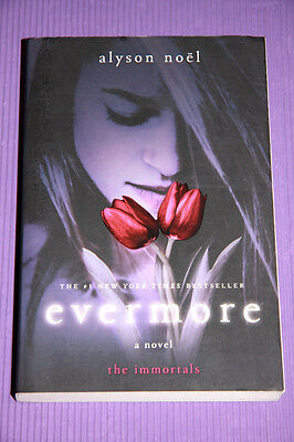 """""""Evermore"""" *AS NEW* by Alyson Noel (Paperback, 2009) Immortals Series"""