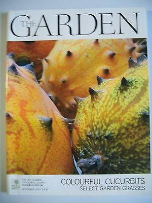 The Garden Magazine. November, 2007. Colourful Cucurbits. Select  Garden Grasses