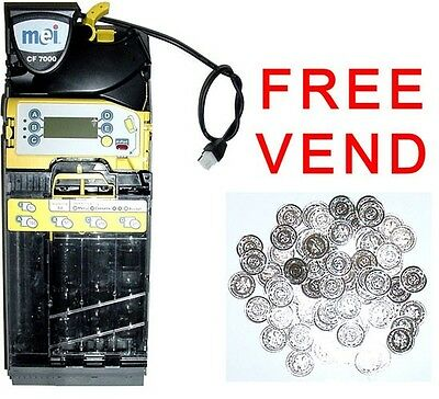Tested working MEI Mars CF7512 coin changer  MDB for vending  5 tube