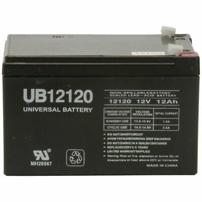 UPGRADE Replacement 12 Volt Battery 4 Peg Perego DJW12-12 DMU12-12 w/ WARRANTY!