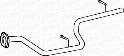 Rear Exhaust Tail Pipe Replacement Fit Honda Shuttle 2.3 16V Mpv Fwd Ra3 98-01