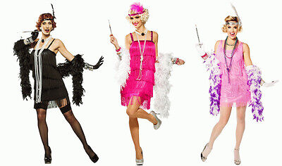 1920S Roaring 20's Adult Womens 5Th Avenue Snazzy Flapper Gatsby Costume Dress