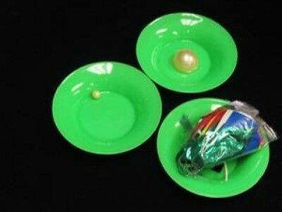 GREEN HOUSE MYSTERY Spring Flowers Magic Trick Set Plastic Bowl Grows Appearing