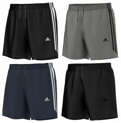 Adidas Originals 3 Stripes Chelsea Mens Shorts Climalite Fitness Training