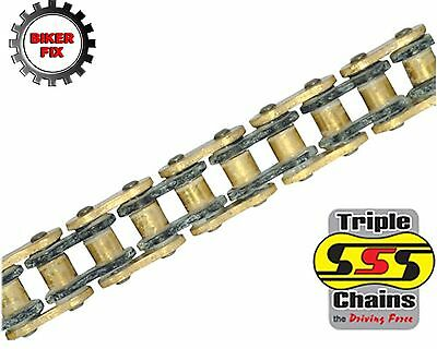 Yamaha FZS600 Fazer 98-03 SSS GOLD Heavy Duty O-Ring Chain