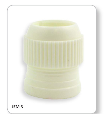 JEM 2pc EXTRA LARGE Big Coupler Adapter For Icing Nozzle Tip Cup Cake Decorating
