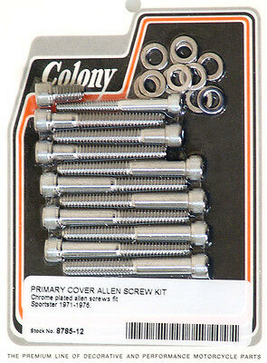 Harley 57-69 XLCH Primary Cover Kit Chr Colony 8890-20