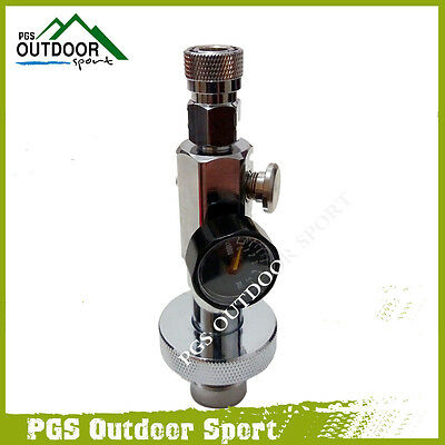 Paintball PCP Airsoft HPA High Pressure Scuba Tank Air Din Fill Station G5/8""