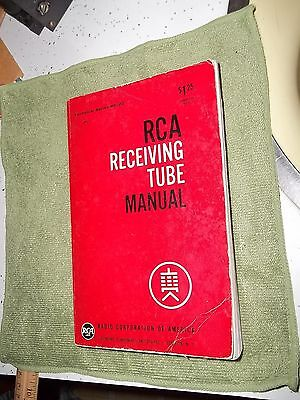 RCA TUBE MANUAL RC-22 GOOD CONDX SHIP FREE USA 50