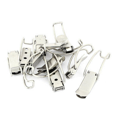 10 Set Stainless Steel Spring Loaded Toggle Latch Hasp Replacement