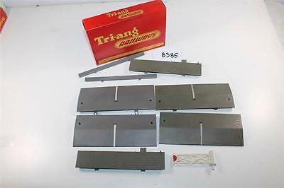 Triang OO Scale Level crossing bits and pieces in a R.70 crossing box (8385)