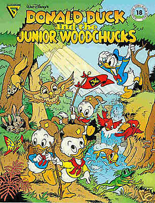 Gladstone Comic Album # 18: Donald & Junior Woodchucks