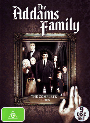 The Addams Family The Complete Series Box Set DVD R4 New!! *
