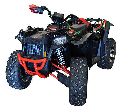 New Polaris Scrambler 850 1000  Atv Over Fenders Flares Mud Guards Custom Fit