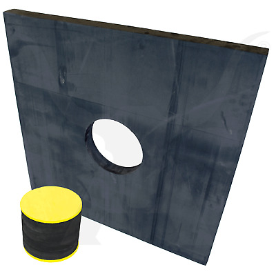 Extra Large High Density Foam Target With Exchangeable Core For Compound Recurve