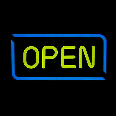 OPEN Sign Animated LED Neon Light Motion Business Window Display
