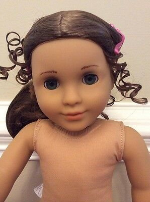 Nude New AMERICAN GIRL doll 18 in MARIE GRACE NO BOX