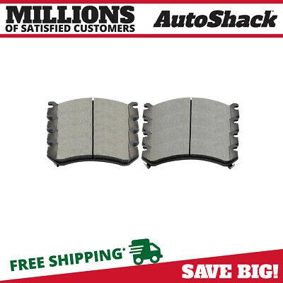 Set of Front and Rear Ceramic Brake Pads