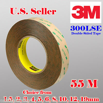 3M 300LSE Double Sided Transparent  Adhesive 55M Tape Cell Phone LCD Repair