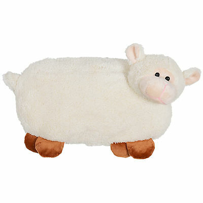 New Hot Water Bottle With Fun Plush Fleecy Sheep Cover