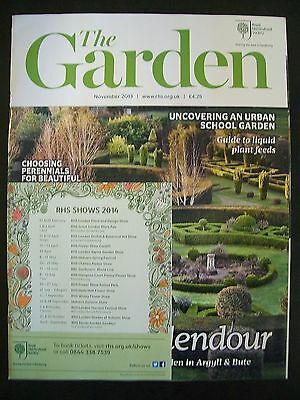 The Royal Horticultural Society. The Garden Magazine. November, 2013. VGC.