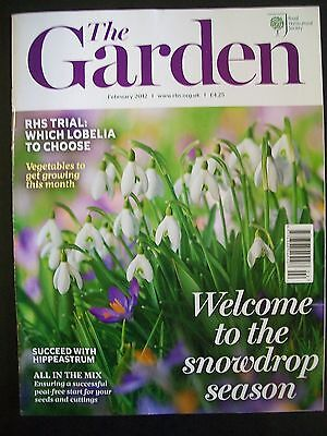 The Royal Horticultural Society. The Garden Magazine. February, 2012. VGC.