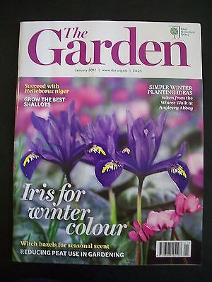 The Royal Horticultural Society. The Garden Magazine. January, 2012. VGC.