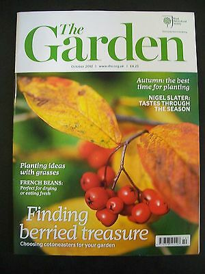 The Royal Horticultural Society. The Garden Magazine. October, 2012. VGC.