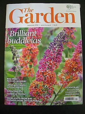 The Royal Horticultural Society. The Garden Magazine. September, 2012. VGC.