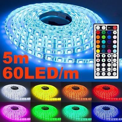 NINETEC Flash60 5m LED-Strip Band 60 LED´s pro Meter Wasserfest In- und Outdoor