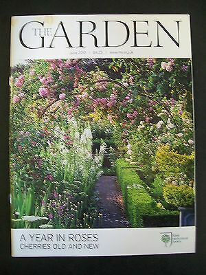 The Royal Horticultural Society. The Garden Magazine. June, 2010. VGC.