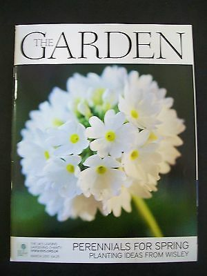 The Royal Horticultural Society. The Garden Magazine. March, 2010. VGC.