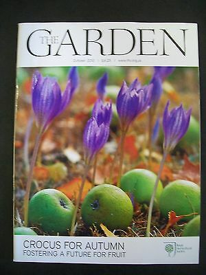 The Royal Horticultural Society. The Garden Magazine. October, 2010. VGC.