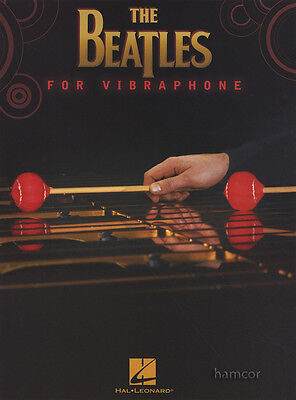 The Beatles for Vibraphone Sheet Music Book