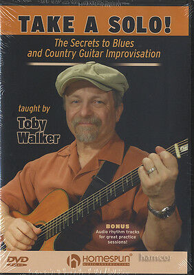 Take A Solo Guitar Tuition DVD Blues & Country Improvisation Secrets Toby Walker