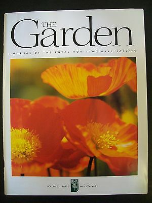 The Royal Horticultural Society. The Garden Magazine. May, 2006. VGC.
