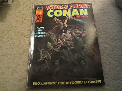 The Savage Sword Of Conan The Barbarian 6 Early Issue