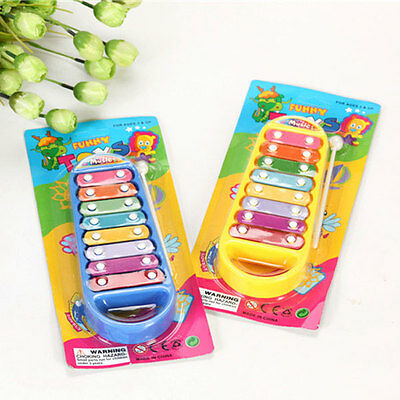 Baby Kids Boys Girls Educational Toy Musical Instrument 8-Note Xylophone Toy