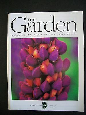 The Royal Horticultural Society. The Garden Magazine. May, 2002. VGC.
