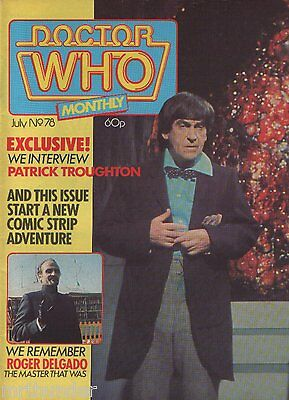 Doctor Who Monthly Issue 078 - Peter Davison Daleks Comic Strip Cybermen Posters