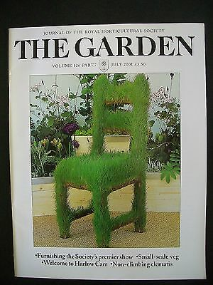 The Royal Horticultural Society. The Garden Magazine. July, 2001. VGC.