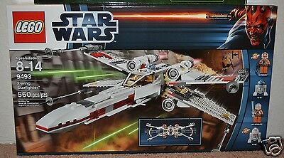 New Lego Star Wars 9493 X-Wing Star Fighter NIB FACTORY SEALED