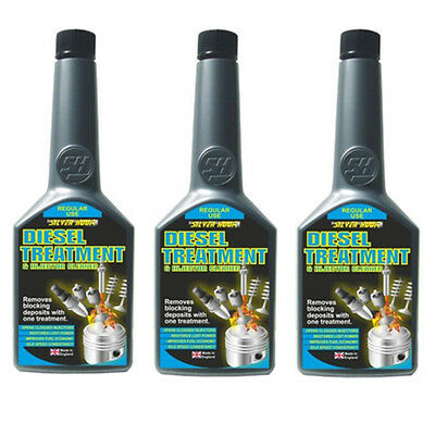 3 x DIESEL Treatment & Injector Cleaner Fuel Additive 325ml Restores Power